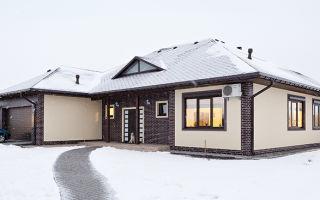 Как построить небольшой одноэтажный зимний каркасный дом?