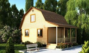 Как построить каркасно-щитовой дачный домик