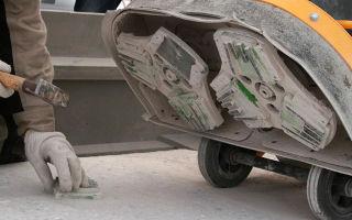 Шлифовка бетонного пола в частном доме