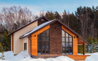 Дешевые каркасно-щитовые дома: особенности и сроки возведения