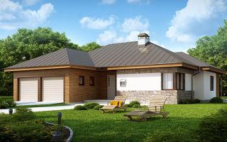 Одноэтажный каркасный дом. Стоимость, планировка