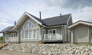Одноэтажные финские дома из бруса с верандой. Советы по выбору и строительству
