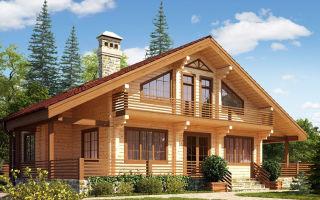 Дачные дома из бруса 6х22. Лучшие проекты и рекомендации по строительству