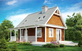 Каркас каркасного дома размером 6х6