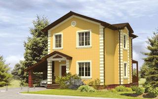 Сколько стоит построить каркасно-щитовой дом