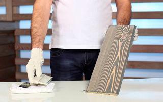 Способы, как состарить деревянную доску