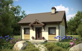 Одноэтажный щитовой дом 6х6. Бюджетное решение жилищного вопроса