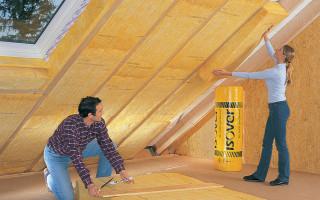 Утепление потолка в частном доме своими руками. Советы и инструкции