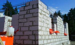 Возводим дом из газоблоков: этапы строительства