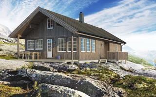 Экологичный каркасный дом