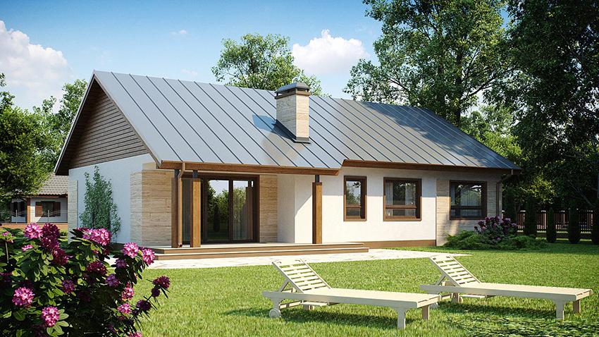 Одноэтажные каркасные дома для постоянного проживания