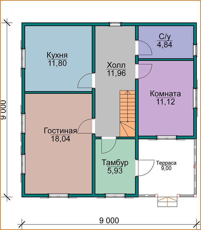 Модель для арт _ 1. Первый этаж