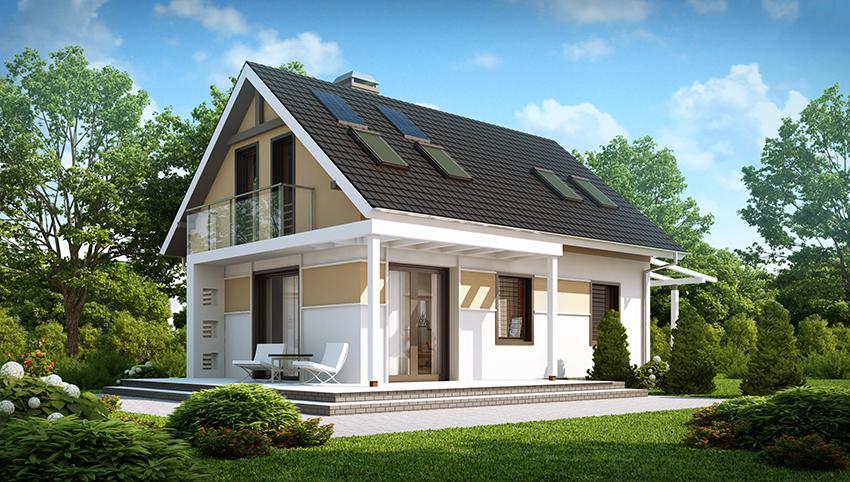 Каркасный дачный дом. Стоимость, планировка, рекомендации