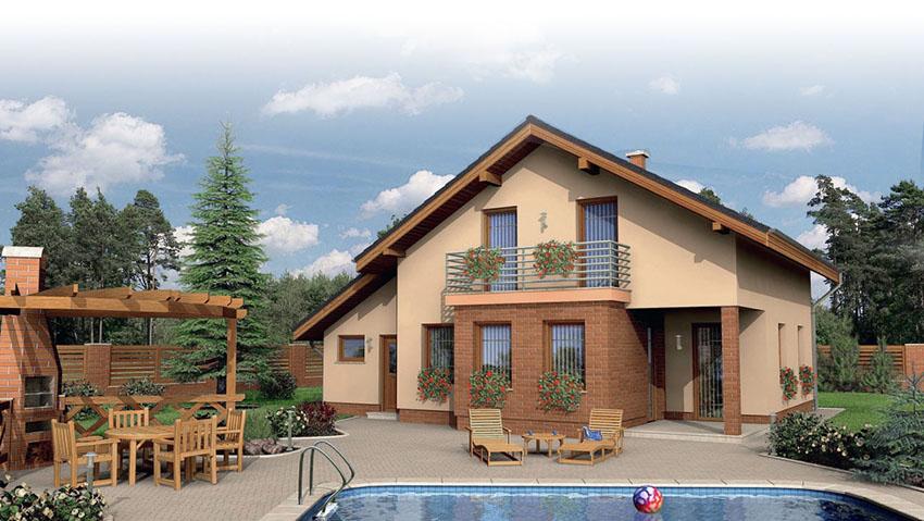 Построить каркасно щитовой дом недорого