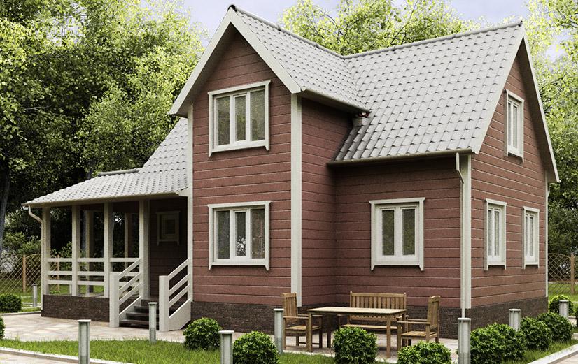 Каркасные дома для постоянного проживания. Проекты
