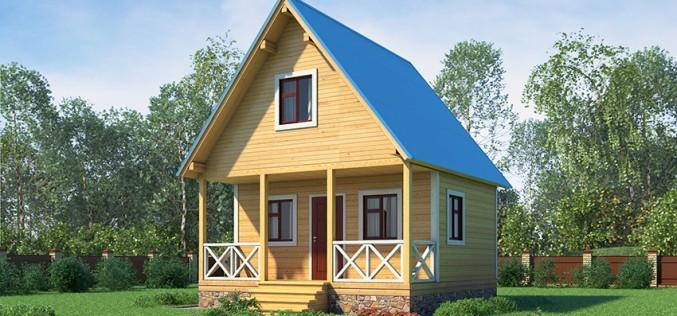 Каркасный дом с баней 6Х6. Как спланировать и построить