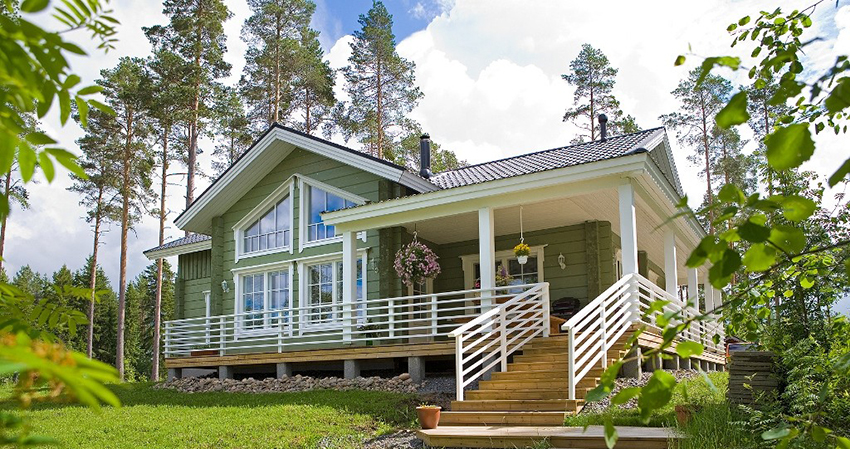 Особенности и преимущества финского деревянного дома