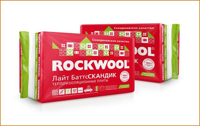 Базальтовая теплоизоляция Rockwool