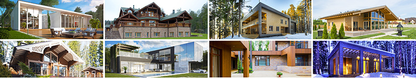 выберите проект дома или поручите архитектору составить его