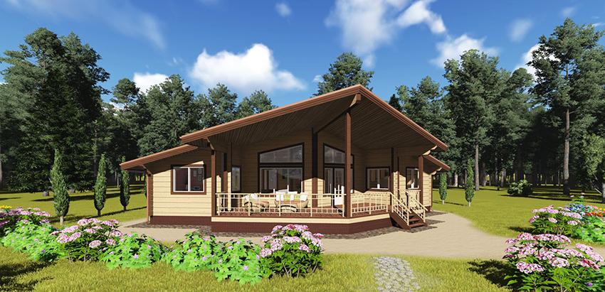 Деревянные дома – это просто, надежно и экологично