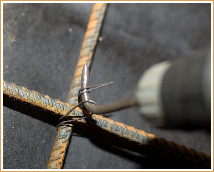 Вязка стального остова