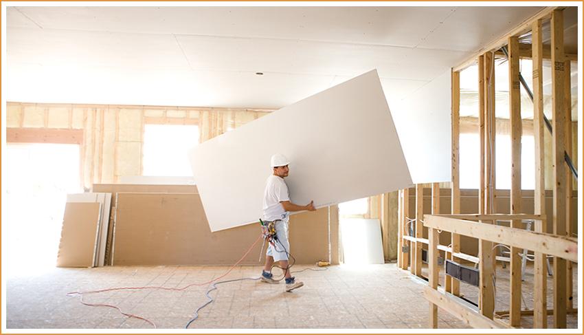 Чистовая отделка и обшивка потолка