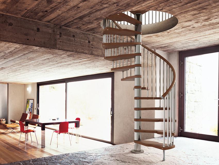 Винтовые лестницы своими руками. Как выбрать, сделать чертежи и установить
