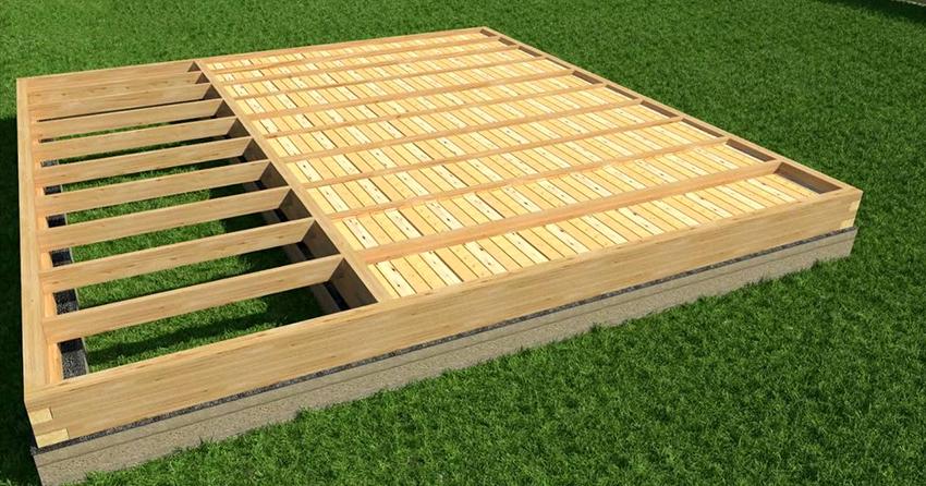 Для чего нужен черновой пол в деревянном доме?