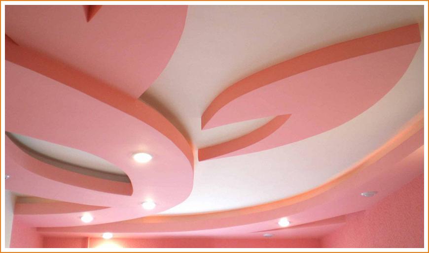 Варианты дизайна потолка из гипсокартона: