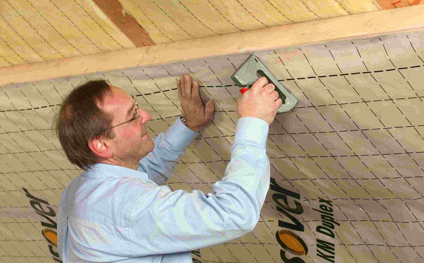 Утепление элементов деревянного дома
