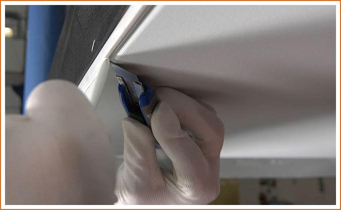Тканевые натяжные потолки плюсы и минусы
