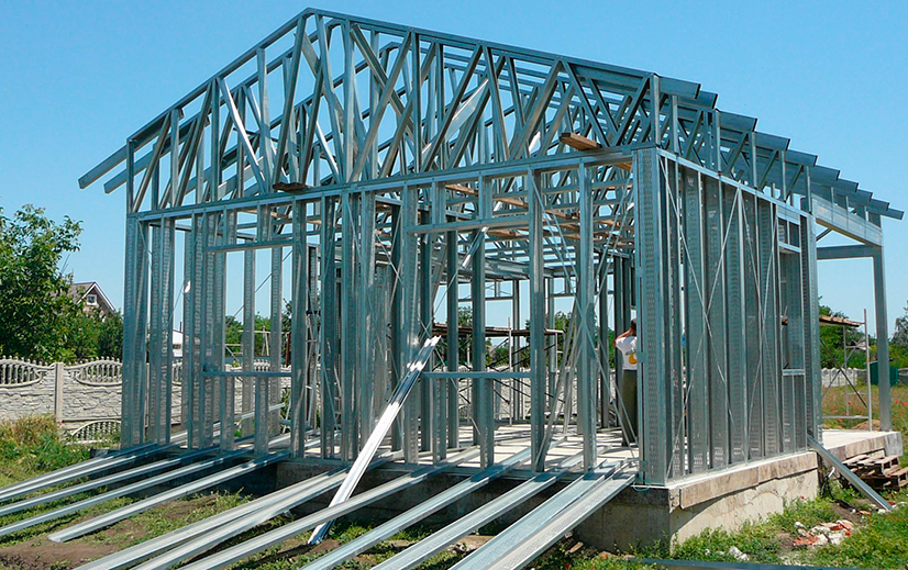 Металлокаркас для частного дома: особенности и этапы строительства