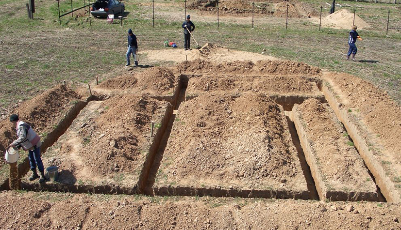 Фундамент на песчаном грунте: выбор и возведение