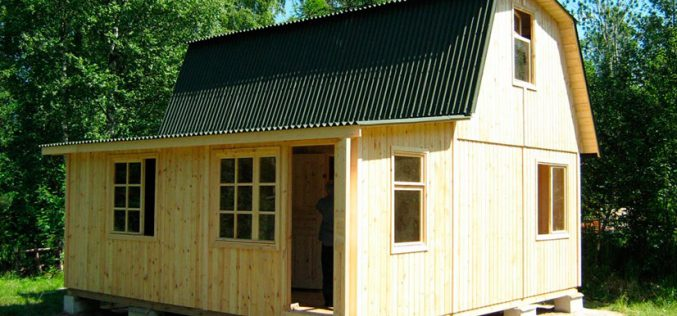 Ломаная крыша: особенности конструкции и ее возведение