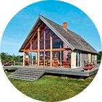 Дом со свободной планировкой