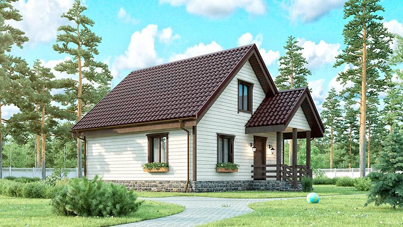 Недорогие каркасные дома. Эконом варианты