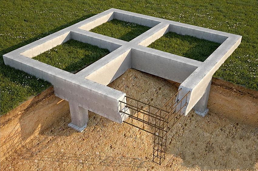 Какой фундамент лучше для каркасного дома?
