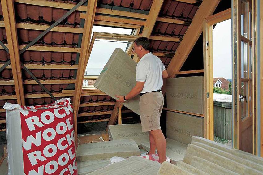 Installing Rockwoo Silk on roof