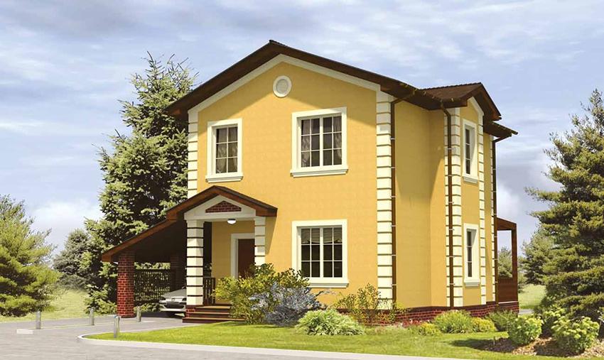 Сколько стоит построить каркасно щитовой дом