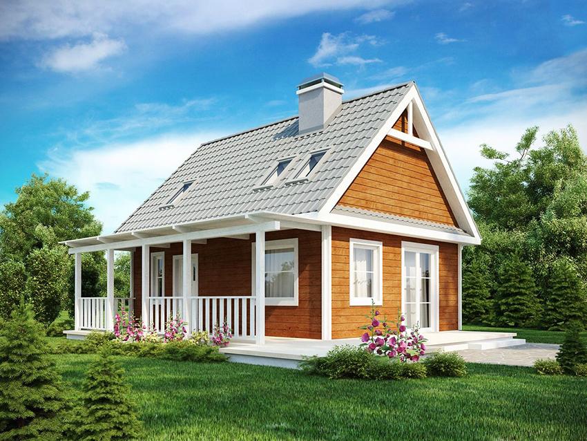 Дома размером 6х6 по каркасной технологии