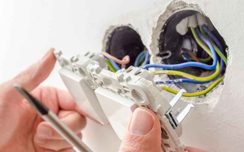 Подключение выключателей и розеток