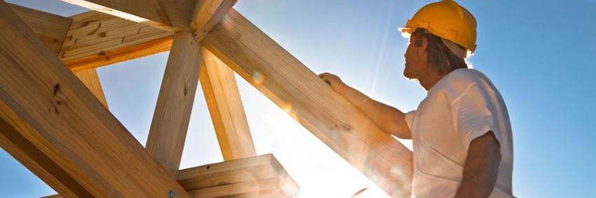 Строительство деревянного дома своими руками из профилированного бруса