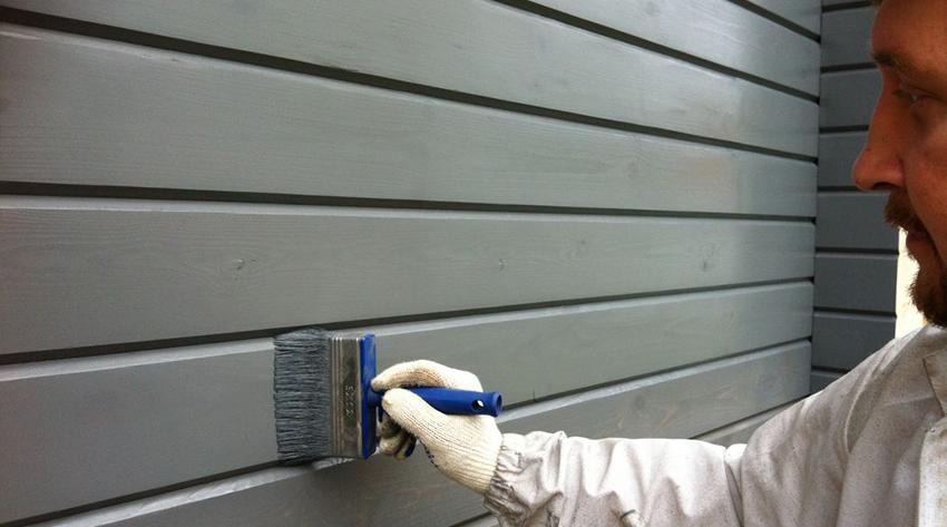 Технология покраски фасада