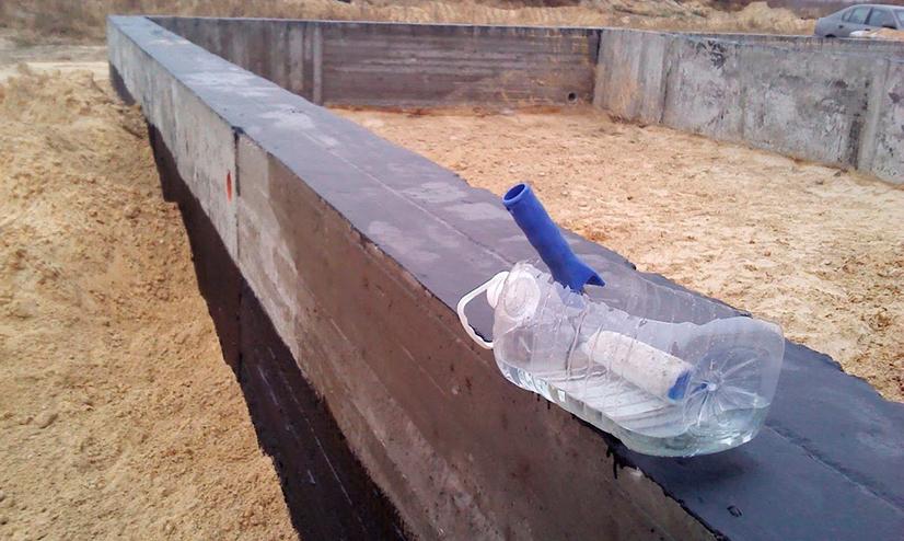Особенности применения жидкого стекла для гидроизоляции