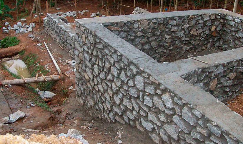 Бутовый фундамент: особенности, возведение, советы от строителей