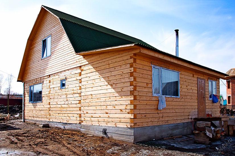Ленточный фундамент для брусового дома: виды, особенности, возведение